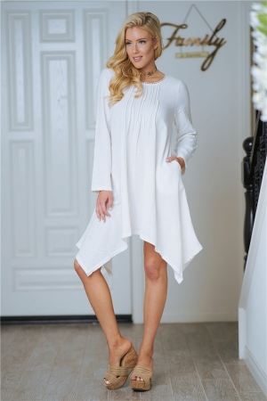 Sexy Women Long Sleeves Casual Dress S-4XL (TMK0130-3)
