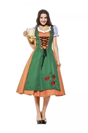 Women Beer Costume TCLP7139