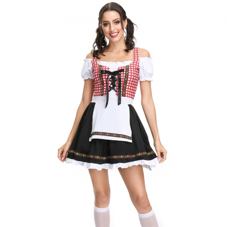 M-XL New Style Women Beer Costume (TLQZ4299)